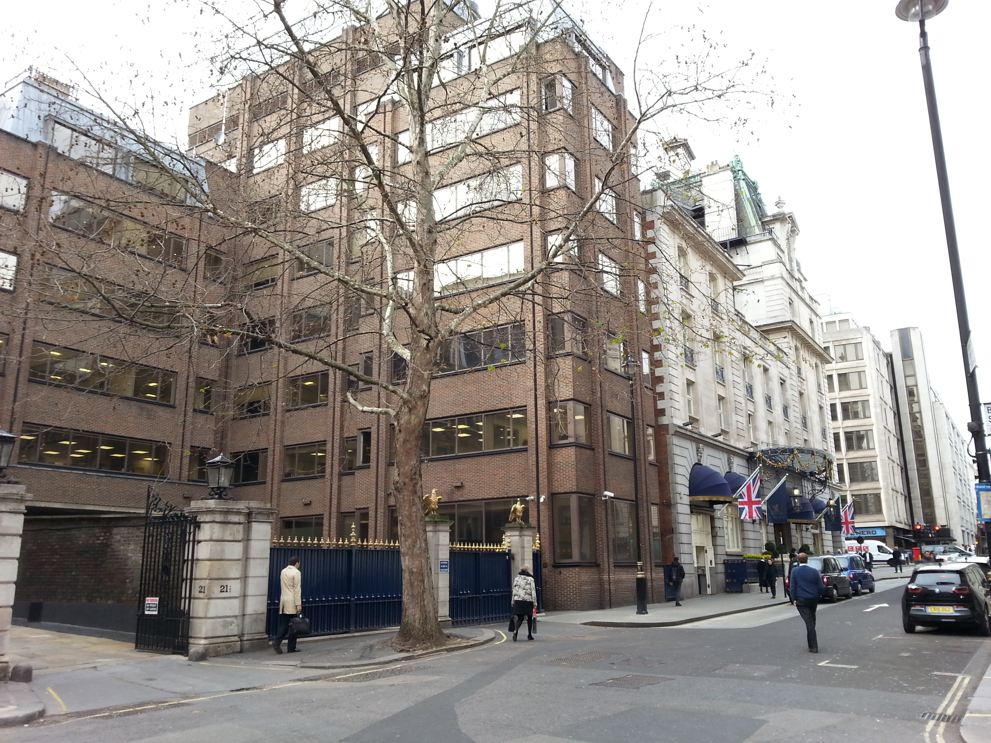 The site of the Marquis of Camden's house, Mayfair (22 Arlington Street)