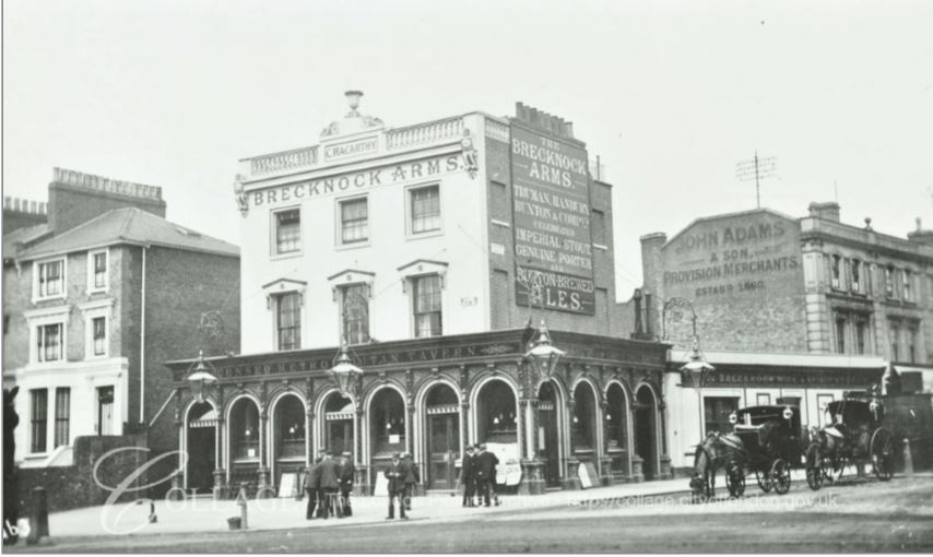 Brecknock Arms 1912 (London Metropolitan Archives)