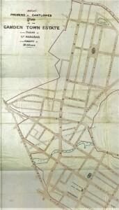 Prebend map 1850