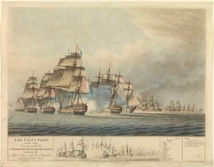 Earl Camden leading a battle in China seas