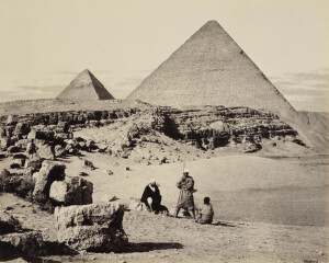 Francis Bedford - pyramids (Royal Collection)