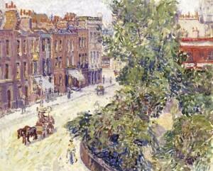 Spencer Gore, Mornington Crescent (Museum of London)